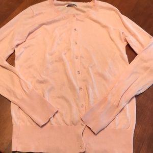 Thin old navy light pink cardigan size medium